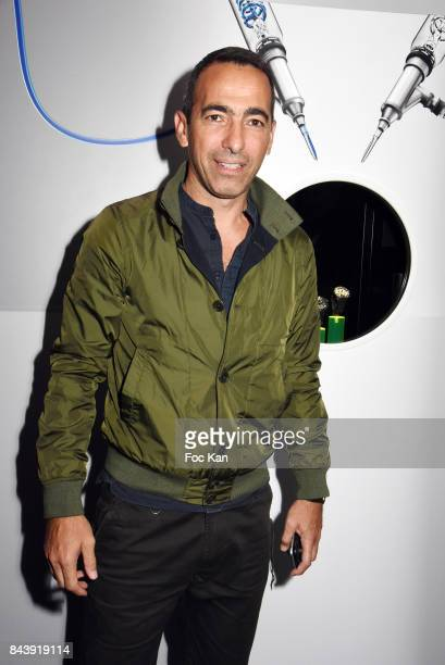 Youri Djorkaeff attends the HYT Watches Launch Party at VIP Room Theater on September 7 2017 in Paris France