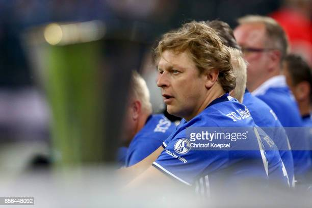 Youri Mulder of Eurofighter and Friends is seen during the 20 years of Eurofighter match between Eurofighter and Friends and Euro All Stars at...