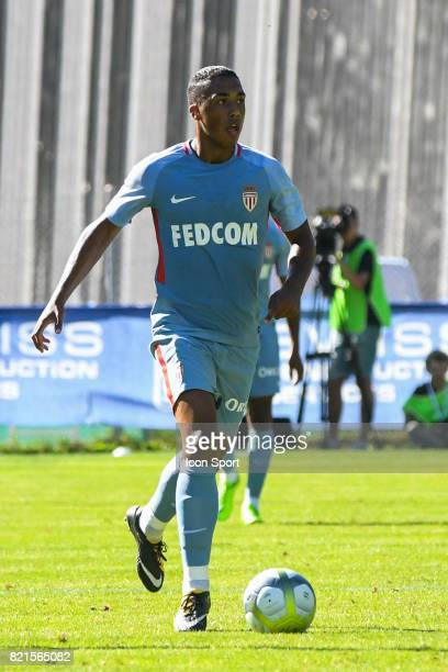 Youri Tielemans during the friendly match between As Monaco and PSV Eindhoven on July 16 2017 in Le Chable Switzerland