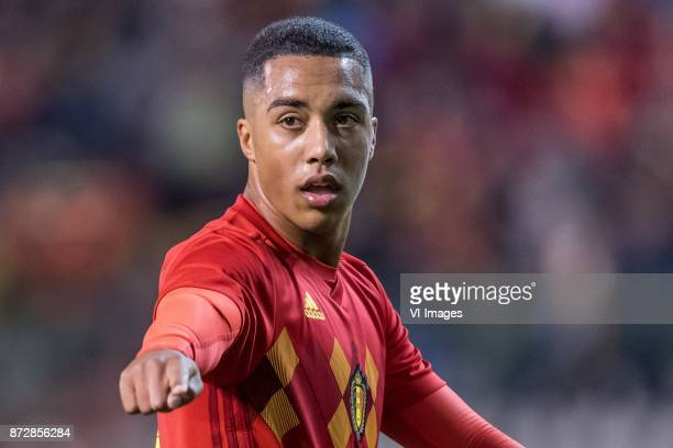 Youri Tielemans of Belgium during the friendly match between Belgium and Mexico on November 10 2017 at the Koning Boudewijn stadium in Brussels...