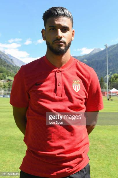 Youssef Ait Bennasser during the friendly match between As Monaco and PSV Eindhoven on July 16 2017 in Le Chable Switzerland