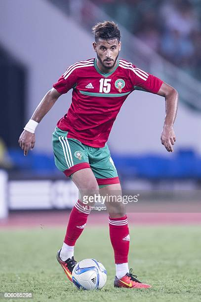 Youssef Ait Bennasser of Morocco during the Africa Cup of Nations match between Morocco and Sao Tome E Principe at September 4 2016 at the Complexe...
