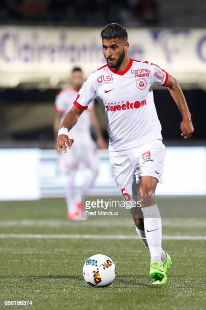 Youssef Ait Bennasser of Nancy during the Ligue 1 match between AS NancyLorraine and AS SaintEtienne at Stade Marcel Picot on May 20 2017 in Nancy...