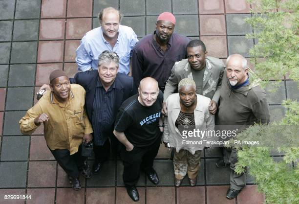 Youssou N'Dour Ayub Ogada Peter Gabriel Angelique Kidjo Midge Ure Thomas Brooman and Tim Smit