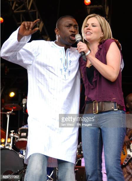 Youssou N'Dour from Senegal and Dido