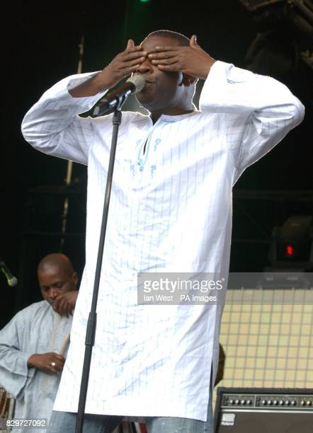 Youssou N'Dour from Senegal