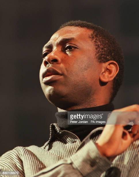 Youssou N'Dour performs at the Amnesty International Human Rights concert presented by The Body Shop at Bercy Stadium Paris The concert is aid of of...