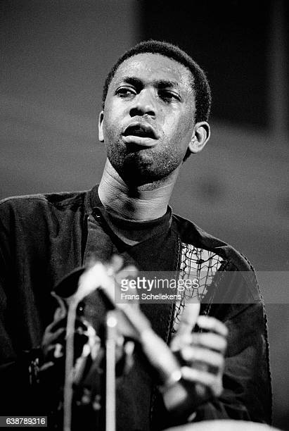 Youssou N'Dour vocals performs at the Paradiso on May 20th 1994 in Amsterdam Netherlands