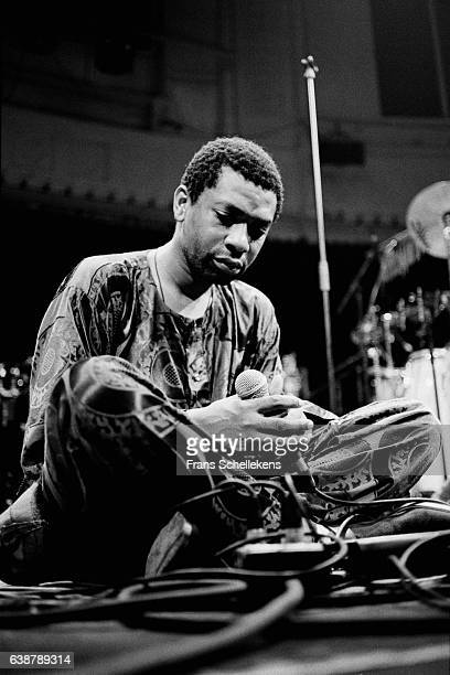 Youssou N'Dour vocals performs at the Paradiso on November 24th 1995 in Amsterdam Netherlands