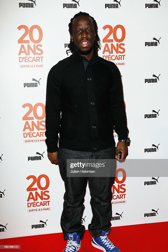 Youssoupha attends '20 Ans D'Ecart' Premiere at Gaumont Capucines on March 5, 2013 in Paris, France.