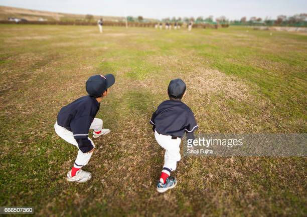 Youth Baseball Players, practice