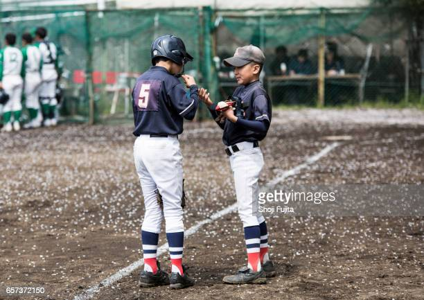Youth Baseball Players, Teammates