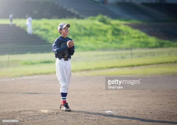 Youth Baseball Players,playing game