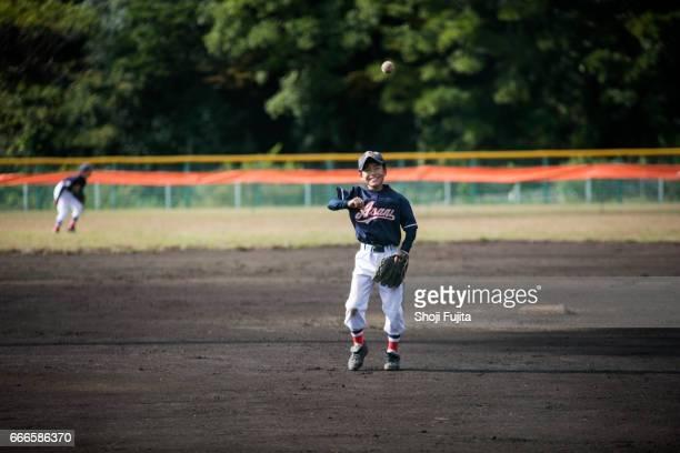 Youth Baseball Players,playing game,