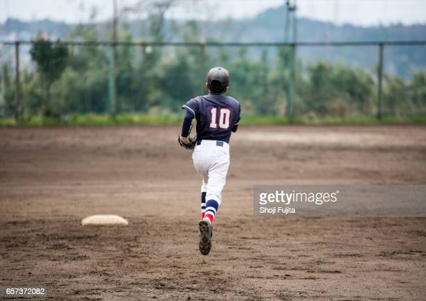 Youth Baseball Players,playing game,Substitution