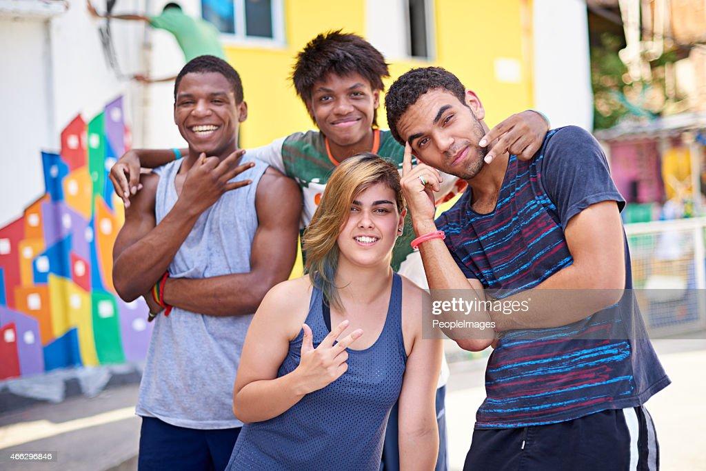 Jugendkultur in Brasilien : Stock-Foto