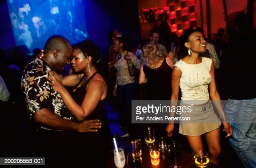Youth dance in Johannesburg nightclub : Stock Photo