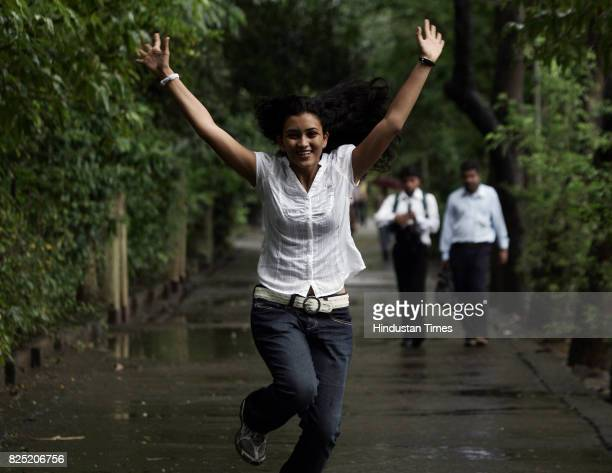 Youth Happiness Education CET Exam Results College Students State topper Shefali Parikh from DG Ruparel College