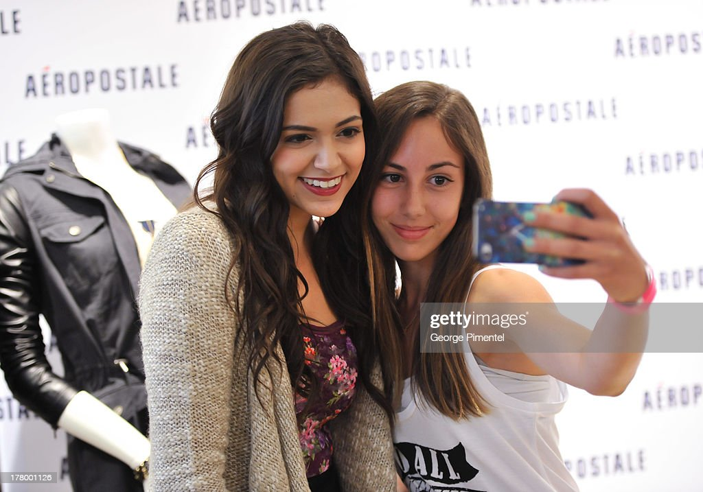 YouTube celebrity Bethany 'Macbarbie07' Mota hosts exclusive meet & greet at the Aéropostale store at Toronto Eaton Center on August 26, 2013 in Toronto, Canada.