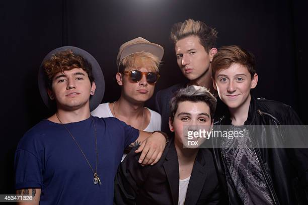 YouTube collaboration group O2L pose for a portrait during the FOX 2014 Teen Choice Awards at The Shrine Auditorium on August 10 2014 in Los Angeles...