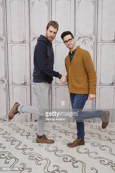 Build Presents Rhett & Link Discussing 'Rhett & Link's Buddy System' : News Photo