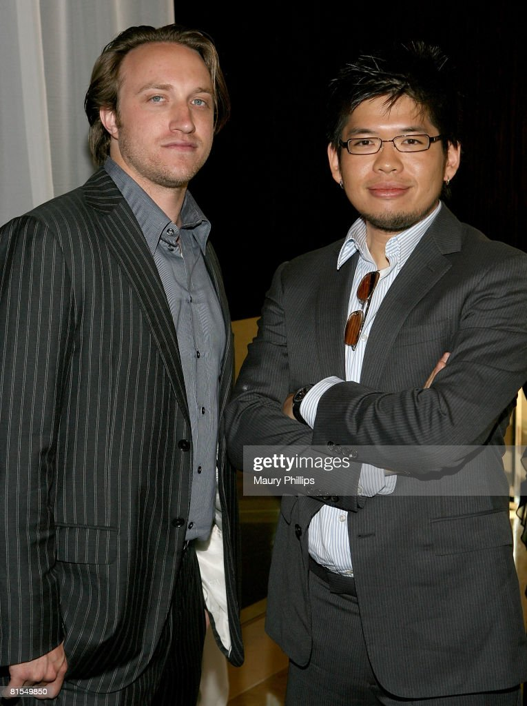 YouTube founders Chad Hurley and Steve Chen attend the 35th Annual Vision Awards on June 12 2008 at Bevely Hilton in Los Angeles California