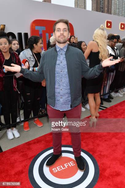 YouTube Influencer Ian Hecox of Smosh attends the YouTube #Brandcast presented by Google at Javits Center North on May 4 2017 in New York City