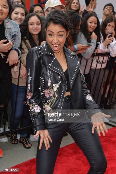 YouTube Influencer Liza Koshy attends the YouTube #Brandcast presented by Google at Javits Center North on May 4 2017 in New York City