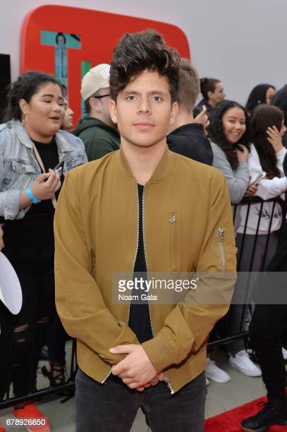 YouTube Influencer Rudy Mancuso attends the YouTube #Brandcast presented by Google at Javits Center North on May 4 2017 in New York City