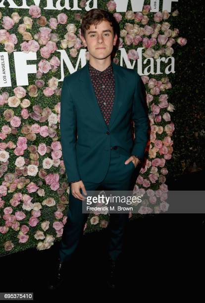 YouTube personality Connor Franta attends Max Mara Celebration of Zoey Deutch as The 2017 Women In Film Max Mara Face of The Future Award Recipient...