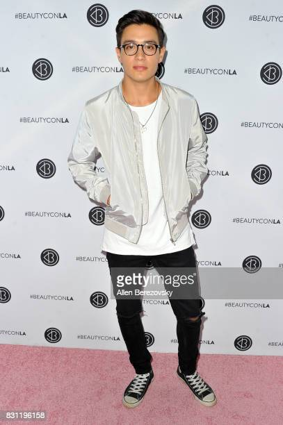 YouTube personality Gabriel Conte attends the 5th Annual Beautycon Festival Los Angeles at Los Angeles Convention Center on August 13 2017 in Los...
