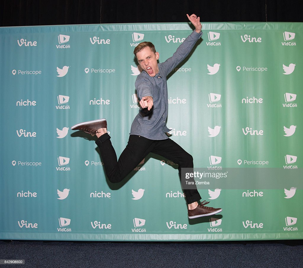 YouTube personality Jon Cozart attends the 7th Annual VidCon at Anaheim Convention Center on June 24 2016 in Anaheim California