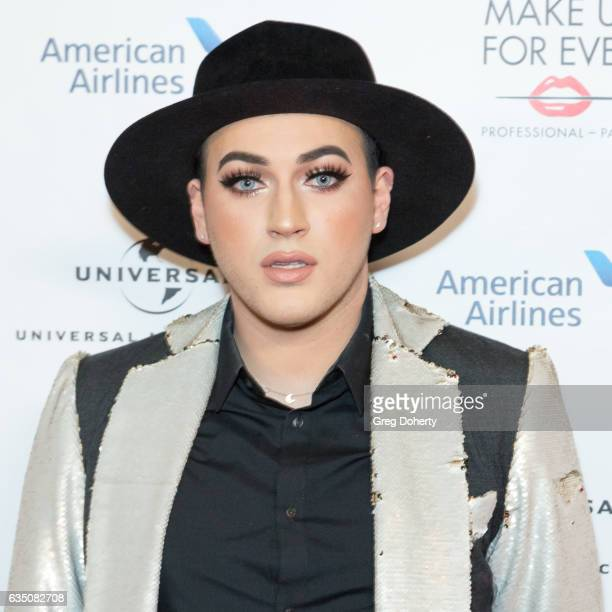 YouTube Personality Makeup Artist Manny Gutierrez attends the Universal Music Group's 2017 GRAMMY After Party at The Theatre at Ace Hotel on February...