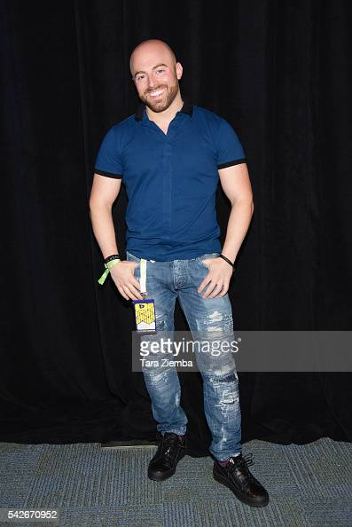 YouTube personality Matthew Santoro attends the 7th Annual VidCon at Anaheim Convention Center on June 22 2016 in Anaheim California