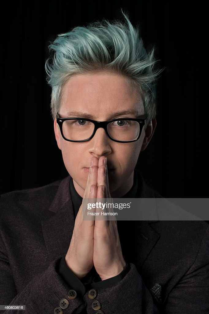 YouTube personality <a gi-track='captionPersonalityLinkClicked' href=/galleries/search?phrase=Tyler+Oakley&family=editorial&specificpeople=9912968 ng-click='$event.stopPropagation()'>Tyler Oakley</a> poses for a portrait at Logo TV's NewNowNext Awards on December 2, 2014 at Kimpton Surfcomber Hotel in Miami Beach, Florida.
