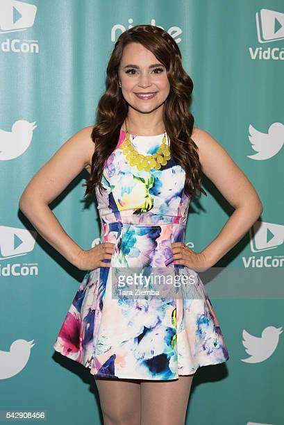 YouTube personality/actress Rosanna Pansino attends the 7th Annual VidCon at Anaheim Convention Center on June 24 2016 in Anaheim California