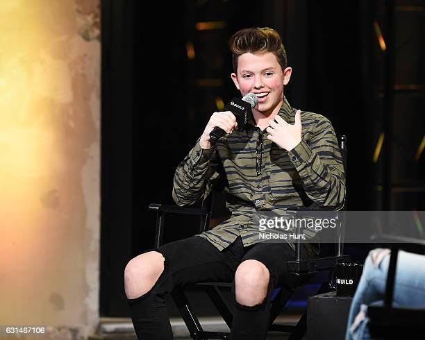 YouTube Sensation Jacob Sartorius attends the Build Presents Discussing his new album 'The Last Text World Tour' at AOL HQ on January 10 2017 in New...