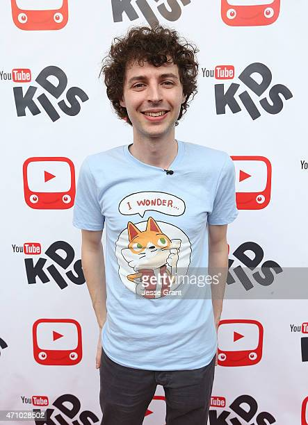 YouTube star and Minecraft gamer in the world Joseph Garrett meets US fans to celebrate the launch of his new Wonder Quest channel on YouTube and...