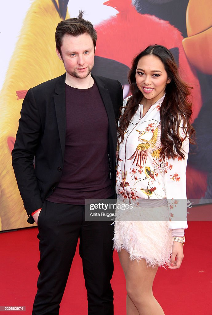 Youtube star Christina Ann Zalamea aka Hello Chrissy and guest attend the Berlin premiere of the film 'Angry Birds - Der Film' at CineStar on May 1, 2016 in Berlin, Germany.