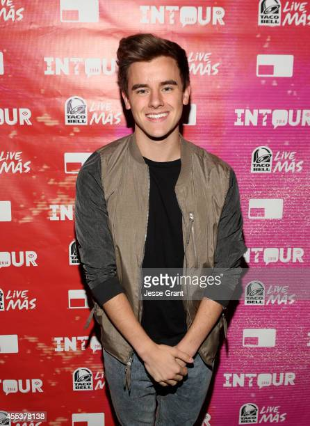 YouTube star Connor Franta attends Fullscreen's INTOUR at Pasadena Convention Center on September 13 2014 in Pasadena California
