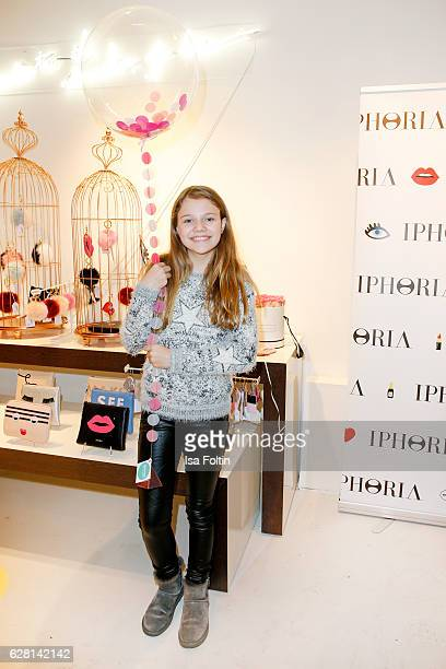 Youtube star Faye Montana attend the Iphoria store opening on December 6 2016 in Berlin Germany