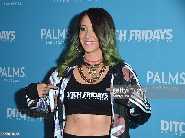 YouTube Star Jenna Marbles hosts Ditch Fridays at Palms Pool Dayclub at the Palms Casino Resort on May 15 2015 in Las Vegas Nevada