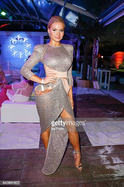 Youtube star Shirin David attends the Raffaello Summer Day 2016 to celebrate the 26th anniversary of Raffaello on June 24 2016 in Berlin Germany