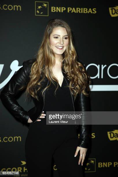 Youtuber Emma CakeCup attends the '4th Melty Future Awards' at Le Grand Rex on February 6 2017 in Paris France