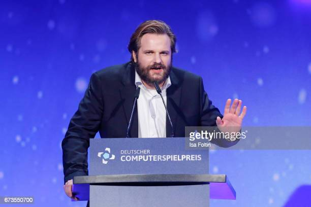 Youtuber Erik Range alias Gronkh during the German Computer Games Award 2017 at WECC on April 26 2017 in Berlin Germany