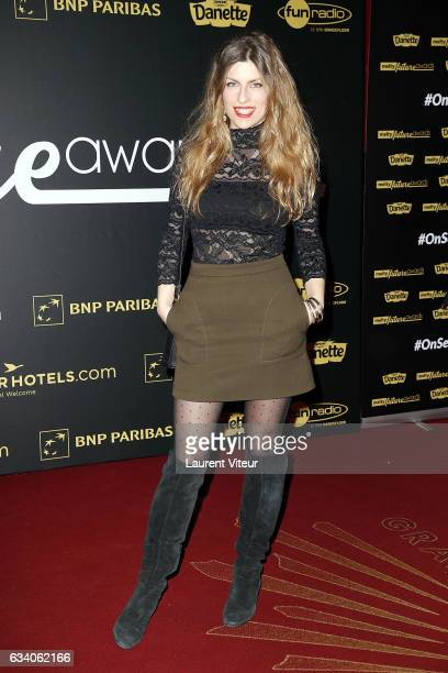 Youtuber Juliette attends the '4th Melty Future Awards' at Le Grand Rex on February 6 2017 in Paris France