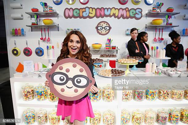 YouTuber Rosanna Pansino poses for a photo speaks onstage during YouTube Brandcast presented by Google on May 5 2016 in New York City