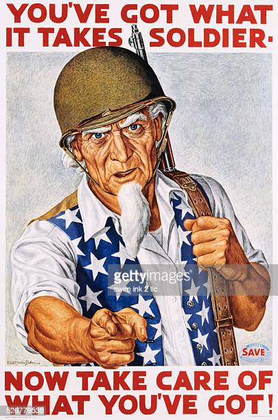 You've Got What It Takes Soldier Poster by Ernest Hamlin Baker