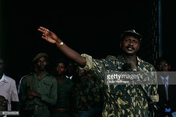 Yoweri Museveni becomes the new president of Uganda