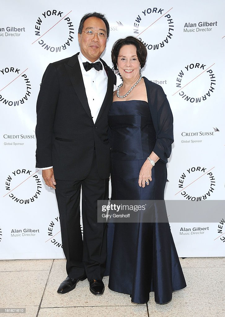 <a gi-track='captionPersonalityLinkClicked' href=/galleries/search?phrase=Yo-Yo+Ma&family=editorial&specificpeople=235395 ng-click='$event.stopPropagation()'>Yo-Yo Ma</a> (L) and Jill Horner attend the New York Philharmonic 172nd Season Opening Night Gala at Avery Fisher Hall, Lincoln Center on September 25, 2013 in New York City.